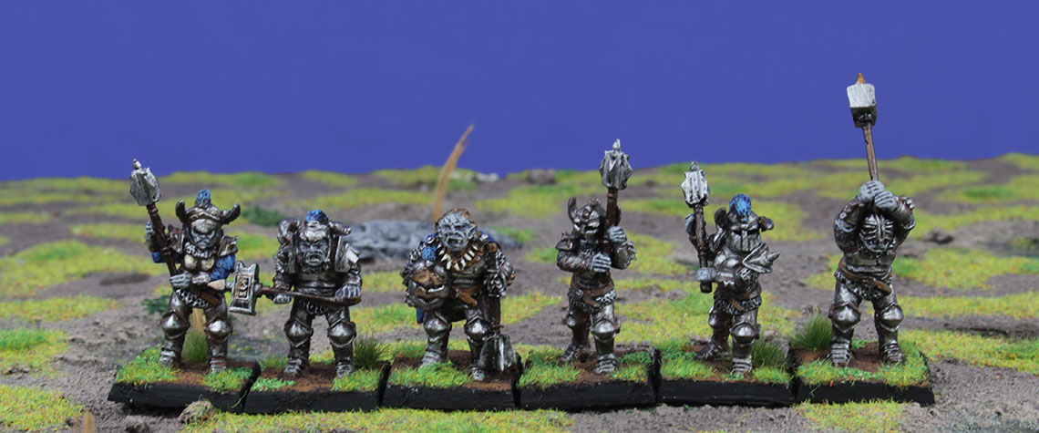 Orc Warriors with Great Weapons